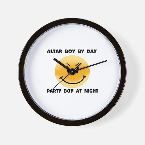 ALTAR BOY Wall Clock