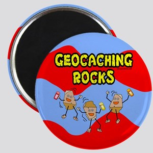 Geocaching Rocks Magnet