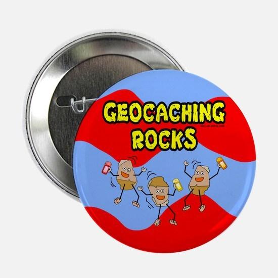 "Geocaching Rocks 2.25"" Button"