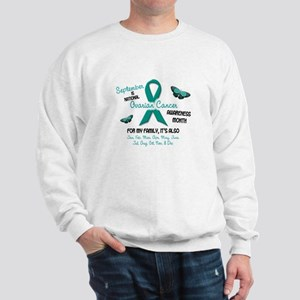Ovarian Cancer Awareness Month 2.2 Sweatshirt