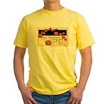 Halloween Greetings Yellow T-Shirt