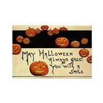 Halloween Greetings Rectangle Magnet (10 pack)