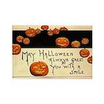 Halloween Greetings Rectangle Magnet