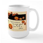 Halloween Greetings Large Mug