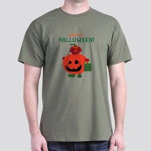 Pumpkin Puppy Dark T-Shirt