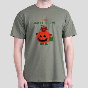 Pumpkin Puppy Dark T-Shirt