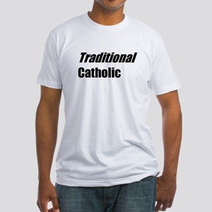 TheAngryCatholic - Traditional - Fitted T-Shirt
