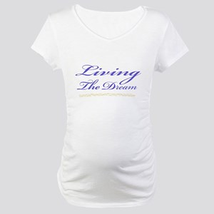 Living the Dream Stars Maternity T-Shirt
