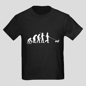 Corgi Evolution Kids Dark T-Shirt