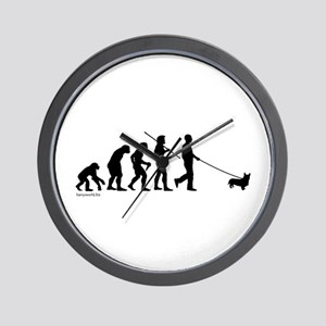 Corgi Evolution Wall Clock