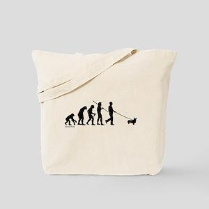 Corgi Evolution Tote Bag