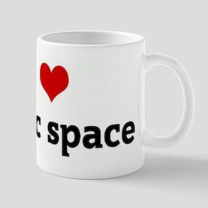 I Love public space Mug