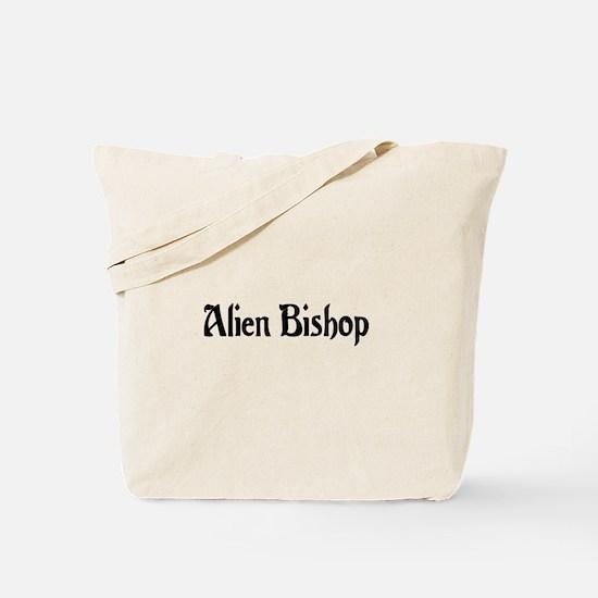 Alien Bishop Tote Bag
