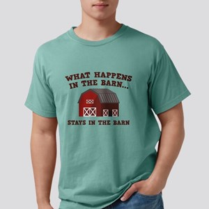 What Happens In The Barn White T-Shirt