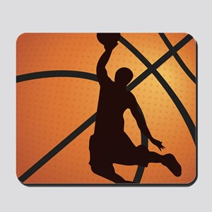 Basketball dunk Mousepad