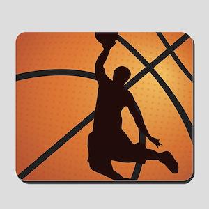 Basketball dunk Mousepad