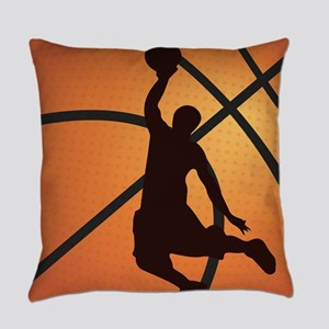 Basketball dunk Everyday Pillow