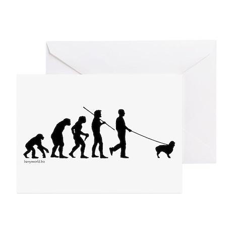 Cavalier Evolution Greeting Cards (Pk of 20)