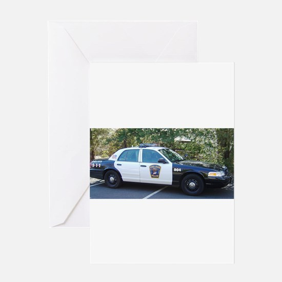 Ford Crown Victoria Greeting Card