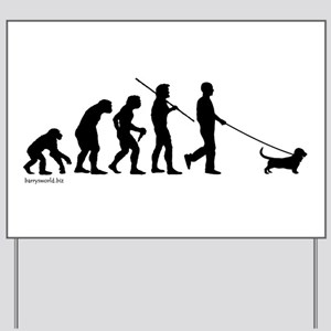 Basset Evolution Yard Sign