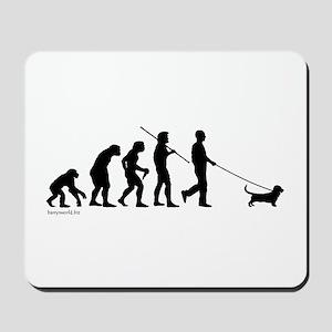 Basset Evolution Mousepad