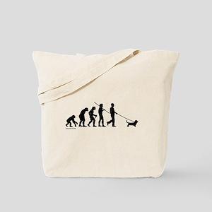 Basset Evolution Tote Bag