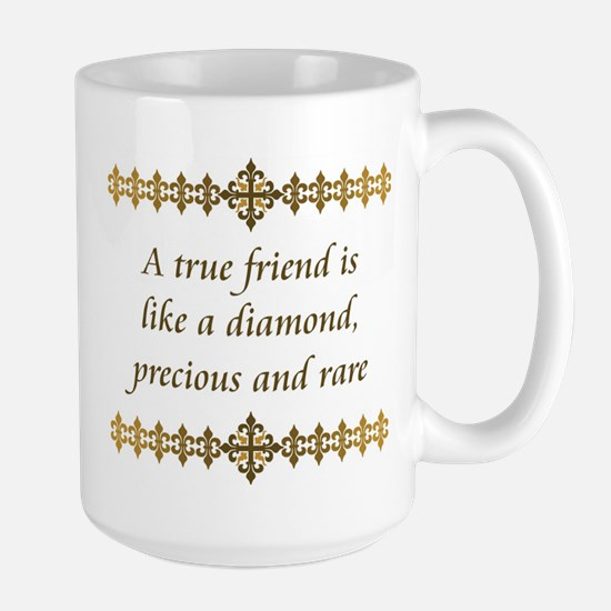 Friend Diamond Large Mug