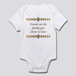 Friends Are Family Infant Bodysuit