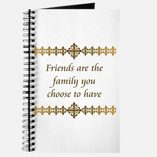 Friends Are Family Journal