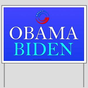 """""""Obama/Biden"""" Yard Sign"""