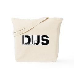 Dusseldorf Airport Code Germany DUS Tote Bag