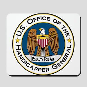 Handicapper General Seal Mousepad