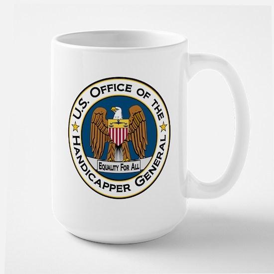 Handicapper General Seal Large Mug