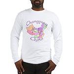 Changyang China Map Long Sleeve T-Shirt