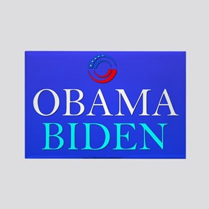 """Obama/Biden"" Rectangle Magnet"
