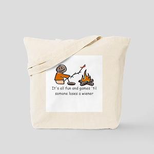Someone Loses a Wiener Tote Bag