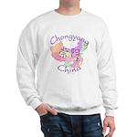 Chongyang China Map Sweatshirt