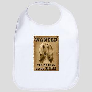 """""""Wanted"""" Afghan Bib"""