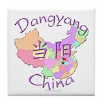 Dangyang China Map Tile Coaster