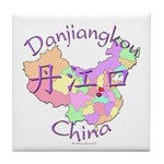 Danjiangkou China Tile Coaster