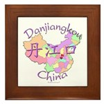 Danjiangkou China Framed Tile
