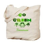 Go Green Tennessee Reusable Tote Bag