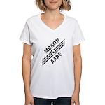 MOLON LABE! Women's V-Neck T-Shirt