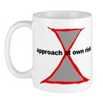 Approach At Own Risk Mug