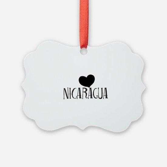 Nicaragua Ornament