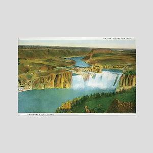 Shoshone Falls Idaho Rectangle Magnet