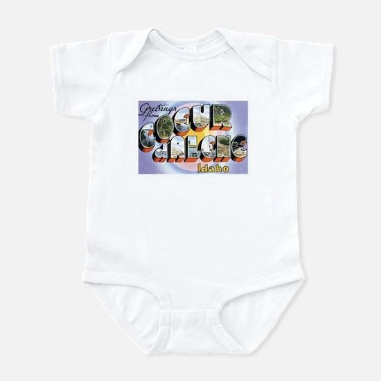 Coeur d'Alene Idaho ID Infant Bodysuit
