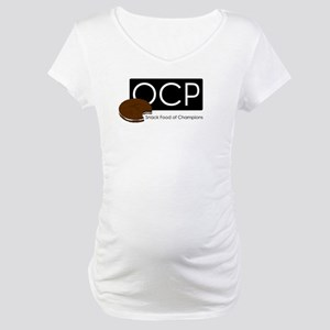 OCP - Oatmeal Creme Pie Maternity T-Shirt