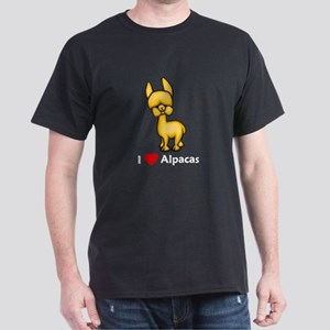 I Love Alpacas Dark T-Shirt