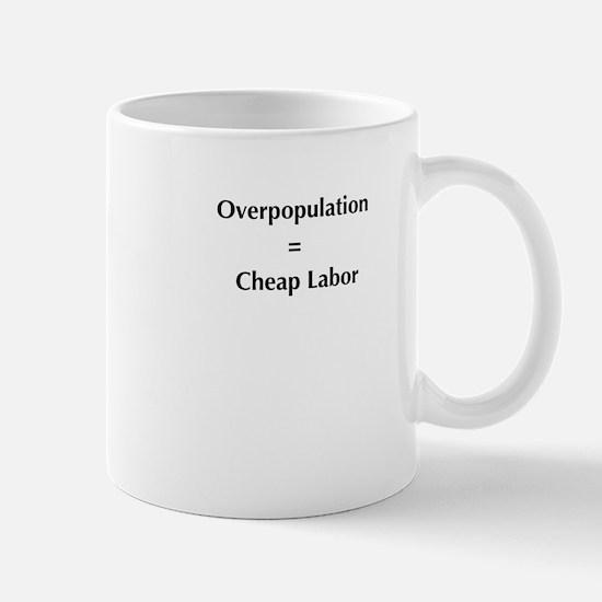 overpopulation Mug